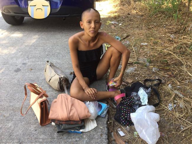 Lộ diện sau hơn 2 năm mất tích, ngôi sao trẻ triển vọng Thái Lan một thời gây sốc với vẻ ngoài tàn tạ, đi ăn xin kiếm sống - Ảnh 2.