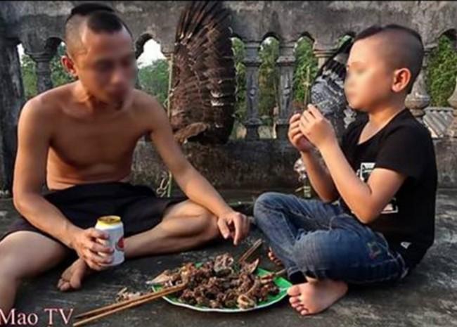 """Xác minh thông tin """"chim trong sách đỏ"""" bị 2 anh em Tam Mao TV làm thịt rồi quay clip ở Hà Nội - Ảnh 3."""
