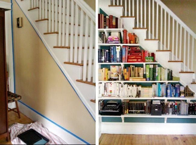 10 mẫu thiết kế cầu thang kiêm tủ sách dưới đây sẽ biến nhà bạn trở thành một thư viện đích thực - Ảnh 3.