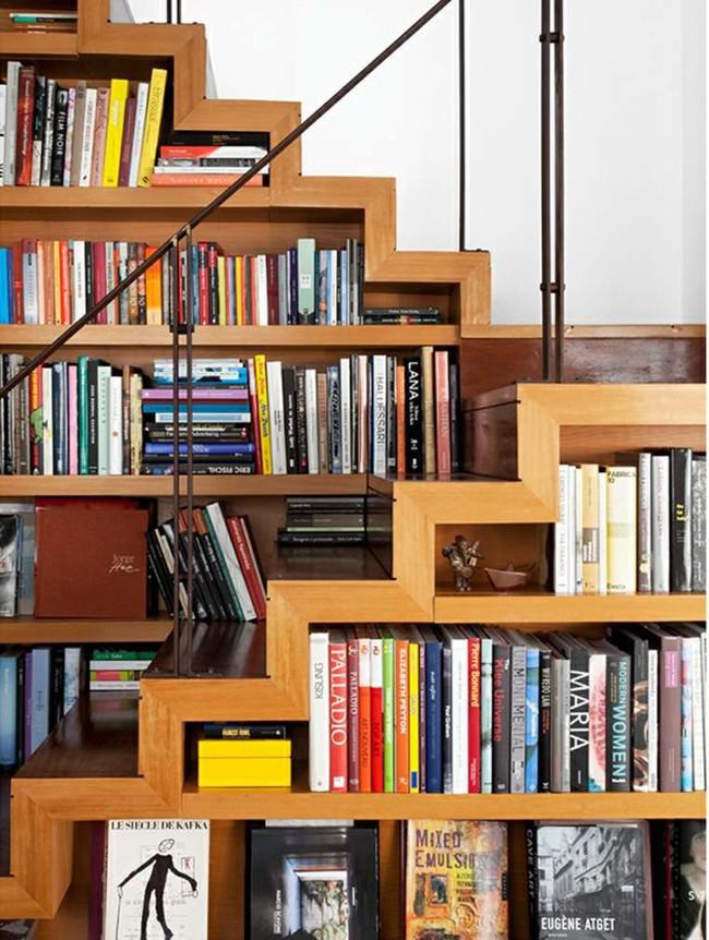 10 mẫu thiết kế cầu thang kiêm tủ sách dưới đây sẽ biến nhà bạn trở thành một thư viện đích thực - Ảnh 6.