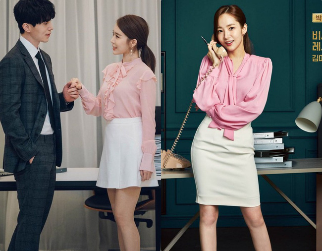 Park Min Young  - Yoo In Na: Hai nàng thư ký xinh đẹp với khá nhiều điểm chung trong phong cách mà nàng công sở nào cũng muốn học theo - Ảnh 1.