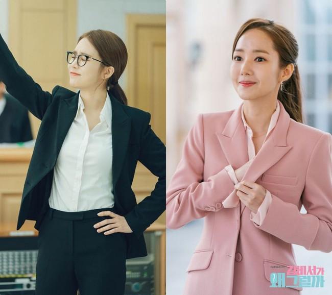 Park Min Young  - Yoo In Na: Hai nàng thư ký xinh đẹp với khá nhiều điểm chung trong phong cách mà nàng công sở nào cũng muốn học theo - Ảnh 3.