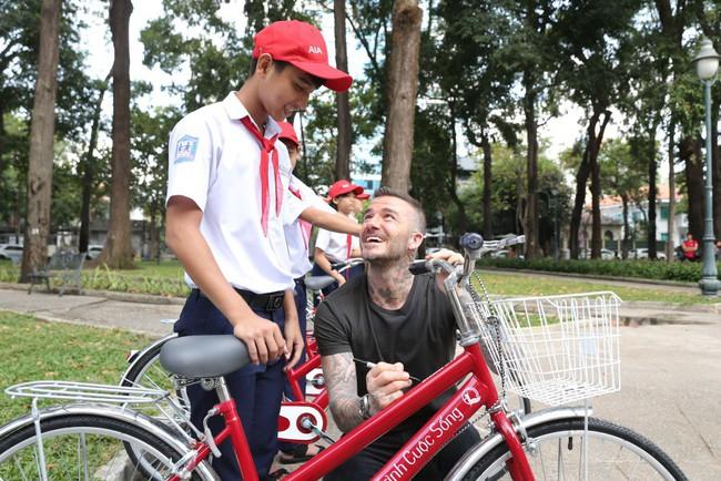 David Beckham tất bật với lịch làm việc chớp nhoáng tại Việt Nam - Ảnh 8.
