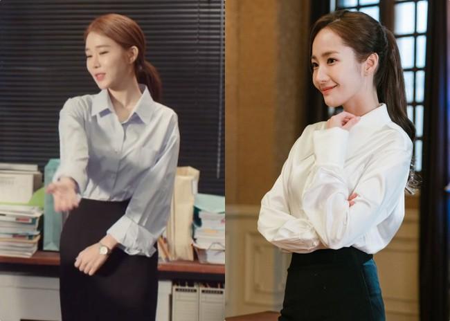 Park Min Young  - Yoo In Na: Hai nàng thư ký xinh đẹp với khá nhiều điểm chung trong phong cách mà nàng công sở nào cũng muốn học theo - Ảnh 2.