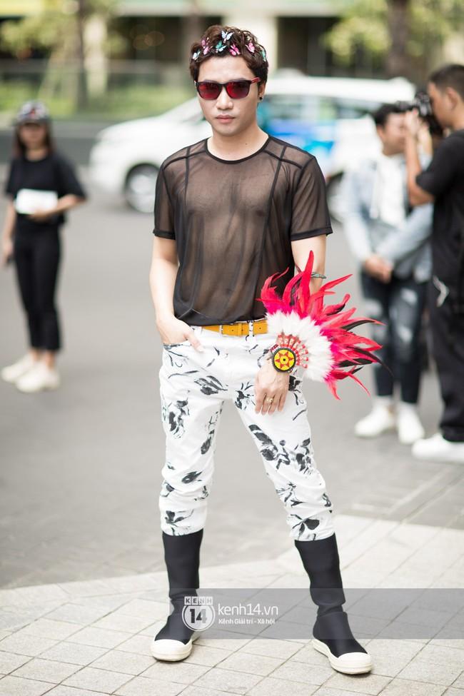 Street style ngày 1 của Tuần lễ thời trang: Ai không biết lại tưởng giới trẻ Việt chơi Halloween sớm tận nửa năm - Ảnh 9.