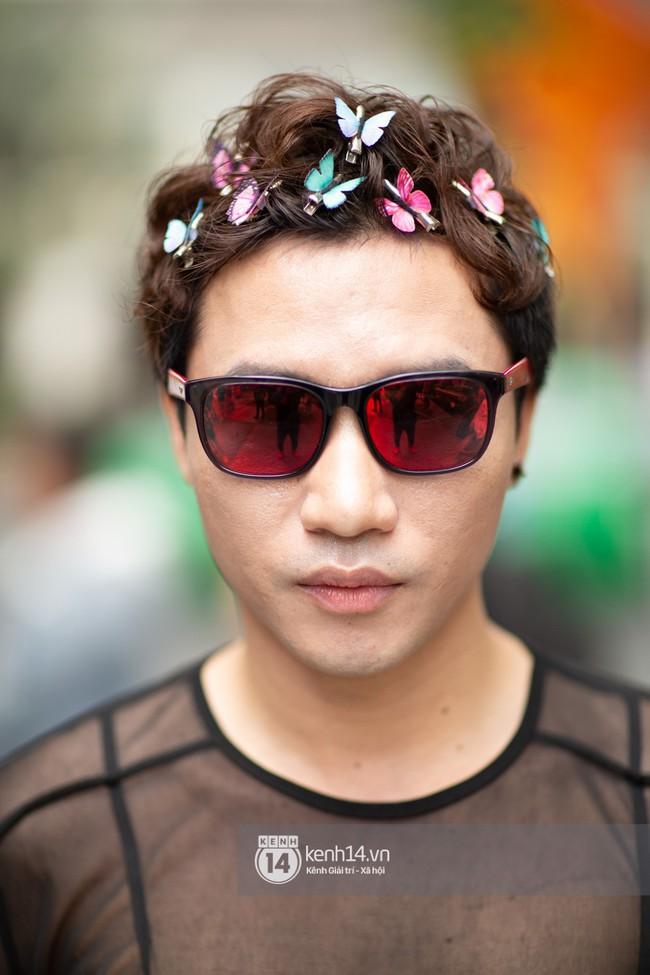 Street style ngày 1 của Tuần lễ thời trang: Ai không biết lại tưởng giới trẻ Việt chơi Halloween sớm tận nửa năm - Ảnh 10.