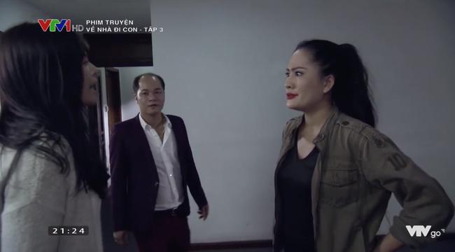 Về nhà đi con tập 3: Thu Quỳnh bị chồng tát ngã lăn ra đất chỉ vì điều này - Ảnh 3.