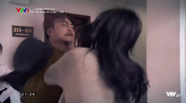 Về nhà đi con tập 3: Thu Quỳnh bị chồng tát ngã lăn ra đất chỉ vì điều này - Ảnh 6.
