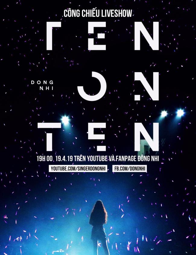 Đông Nhi chơi lớn khi chiếu online toàn bộ liveshow TEN ON TEN tặng fan - Ảnh 6.