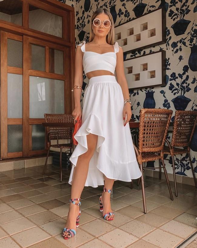 6 kiểu váy chị em nhất định phải sắm trong hè này, đặc biệt là với những nàng bánh bèo thực thụ - Ảnh 11.