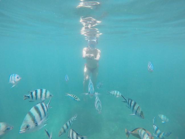 Phương Trinh Jolie gây sốt khi tập yoga dưới nước, hóa ra bí quyết giữ dáng của diễn viên xinh đẹp này rất đơn giản! - Ảnh 6.