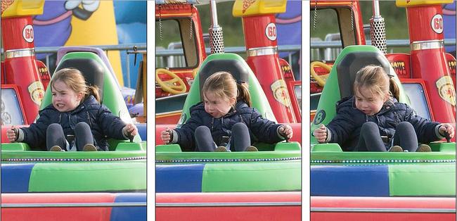 Chỉ vừa mới xuất hiện, hai con nhà Công nương Kate đã gây sốt, đặc biệt là sự thay đổi của Công chúa Charlotte khiến ai cũng thèm có một cô con gái - Ảnh 5.