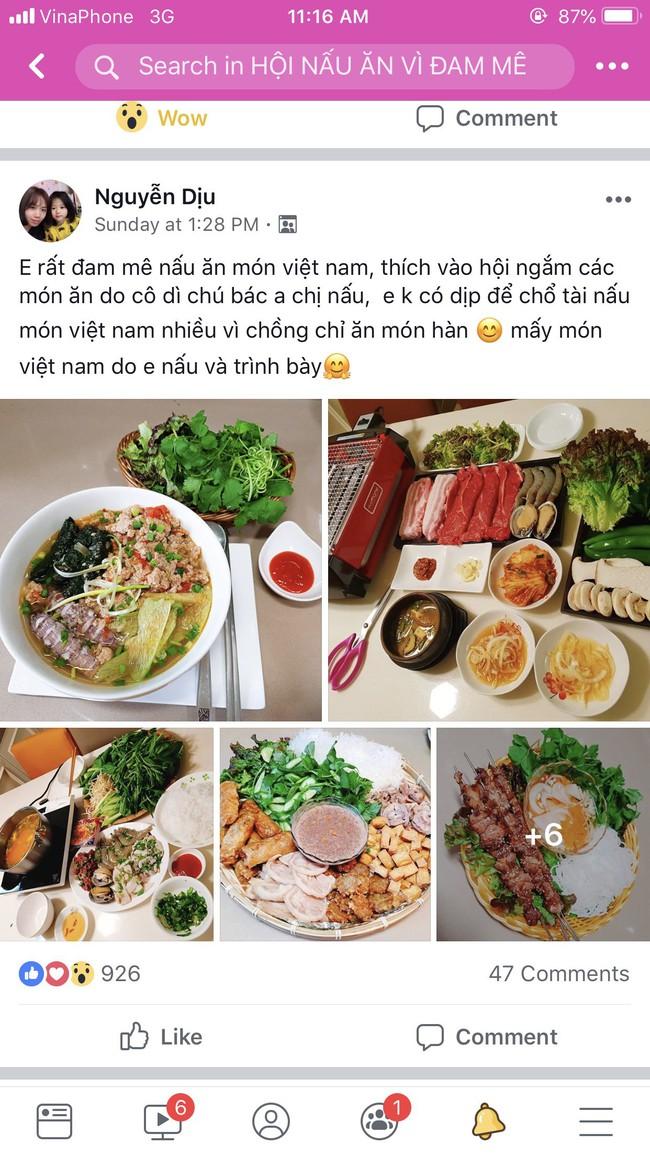 Mẹ Việt ở Hàn Quốc khiến cộng đồng mạng nức nở ngưỡng mộ vì nấu món Việt chuẩn ngon quá đỗi - Ảnh 1.
