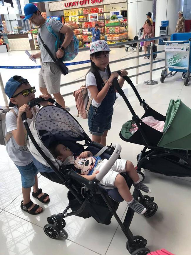 Đi trốn tận resort sang chảnh ở Đà Nẵng, đại gia đình Hằng Túi gây choáng với đội hình 10 thành viên ríu rít xếp hàng - Ảnh 3.