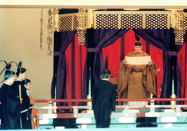 Chùm ảnh: Những sự kiện đi vào lịch sử nước Nhật trong 30 năm dưới thời kỳ Bình Thành của Nhật hoàng Akihito - Ảnh 2.