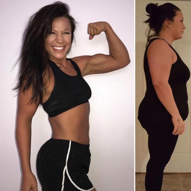 Từng sở hữu số cân lên tới 108kg, điều gì đã giúp bà mẹ trẻ này giảm xuống chỉ còn 68kg? - Ảnh 3.