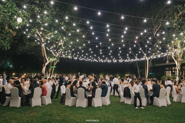 Toàn cảnh đám cưới xa xỉ từng centimet của chồng cũ Hồng Nhung với vợ quý tộc Myanmar, chú rể hạnh phúc như cưới lần đầu - Ảnh 8.
