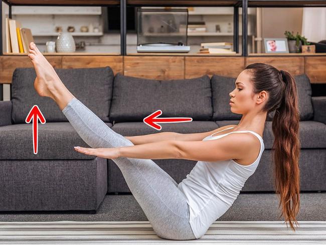 10 bài tập giãn cơ giúp đốt mỡ có thể dễ dàng tập tại nhà - Ảnh 3.