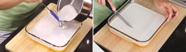 Thạch xoài hai tầng làm cực dễ, ăn ngon khỏi bàn - Ảnh 6.