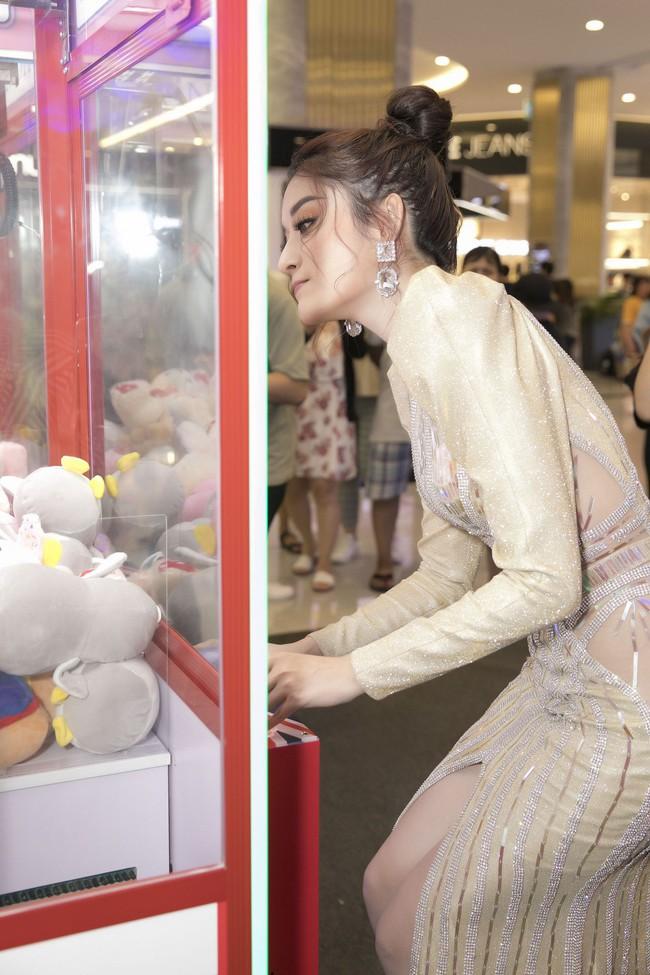 Á hậu Huyền My xinh đẹp khi đụng váy với Hoa hậu Siêu quốc gia - Ảnh 5.