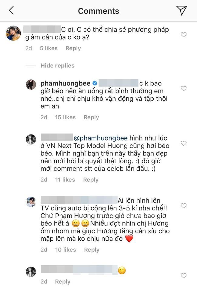 Fan vào hỏi bí quyết giảm cân, Phạm Hương khẳng định chắc nịch: Chị không bao giờ béo! - Ảnh 2.