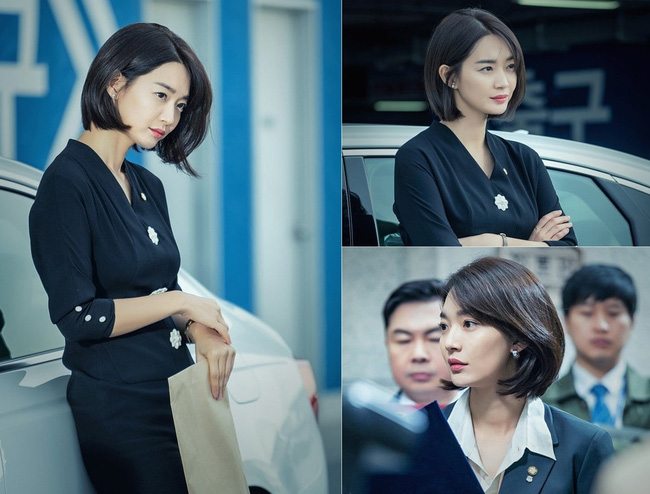 Shin Min Ah khoe tóc ngắn vừa đẹp, vừa sang trong phim mới - Ảnh 2.