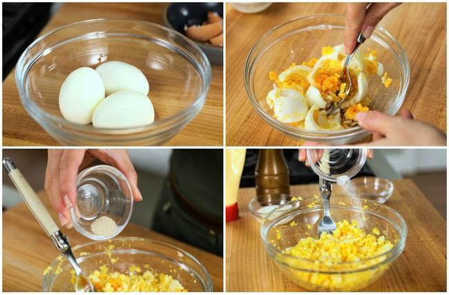 Cuối tuần làm sandwich trứng vừa ngon vừa đẹp mời cả nhà ăn sáng - Ảnh 3.