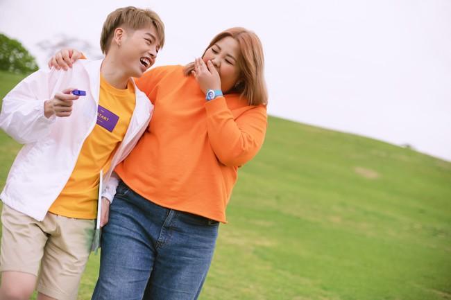 Ai mà ngờ được Đức Phúc và nàng mập triệu view Yang Soo Bin thành đôi lại đáng yêu đến thế - Ảnh 4.