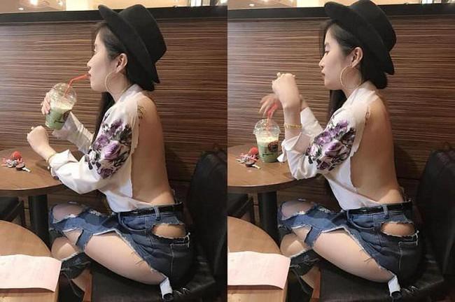 Trời vừa nóng, gái trẻ đã diện mốt mặc quần như không, lộ cả vòng 3 đi tung tăng trong siêu thị - Ảnh 4.
