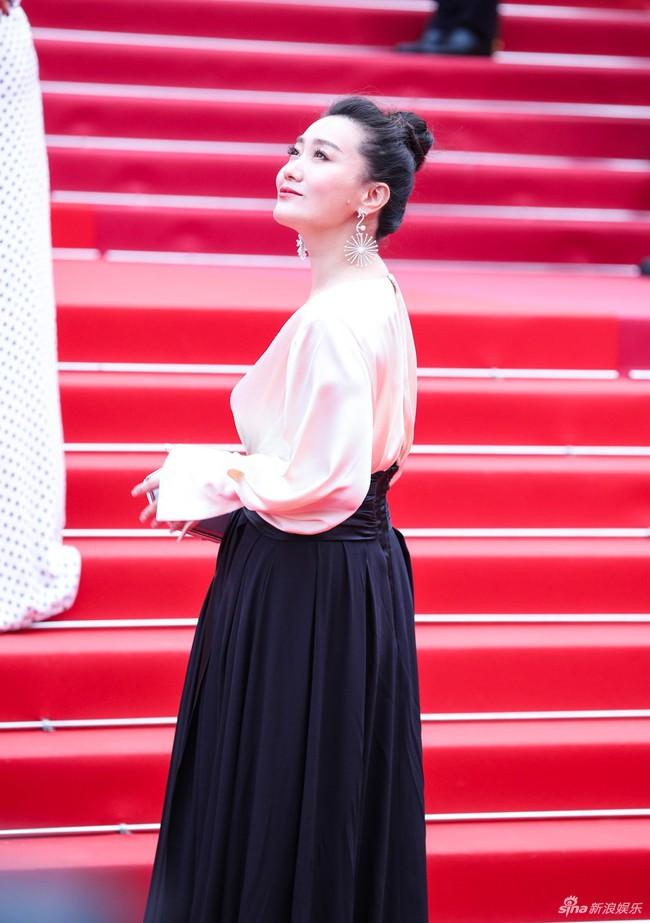 Bên cạnh Củng Lợi nhạt nhòa, Lưu Đào thanh nhã thì dàn sao Hoa ngữ vô danh tại Cannes 2019 lại làm trò khoe ngực lố lăng trên thảm đỏ - Ảnh 8.