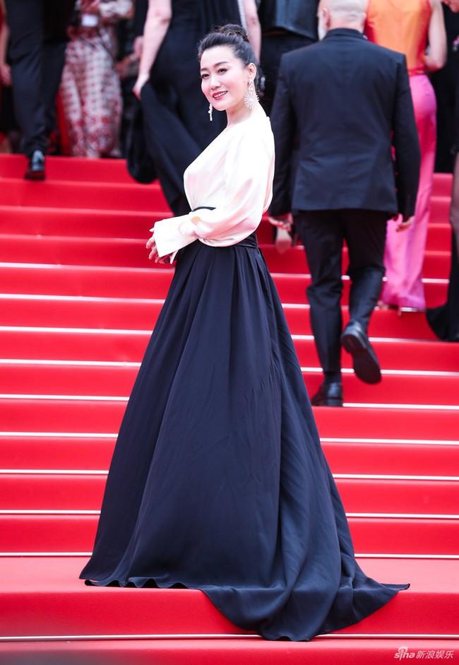 Bên cạnh Củng Lợi nhạt nhòa, Lưu Đào thanh nhã thì dàn sao Hoa ngữ vô danh tại Cannes 2019 lại làm trò khoe ngực lố lăng trên thảm đỏ - Ảnh 9.