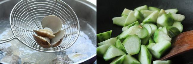Cách làm món canh mướp nấu ngao - Ảnh 2.