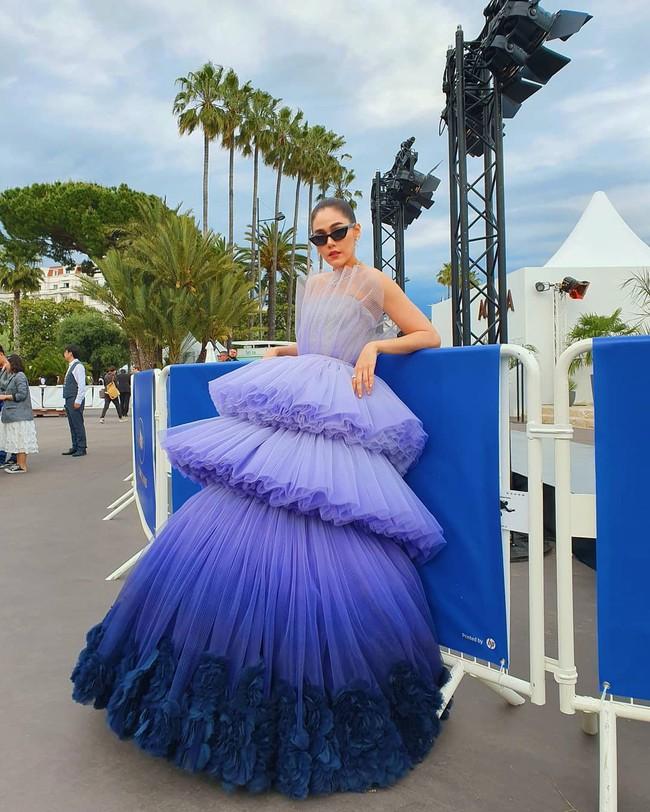 Muốn lịm đi với màn tập hợp váy công chúa ngày khai mạc Cannes 2019, bộ nào cũng bồng bềnh thần tiên quá đỗi - Ảnh 1.