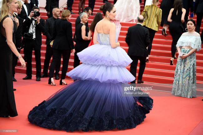 Muốn lịm đi với màn tập hợp váy công chúa ngày khai mạc Cannes 2019, bộ nào cũng bồng bềnh thần tiên quá đỗi - Ảnh 4.
