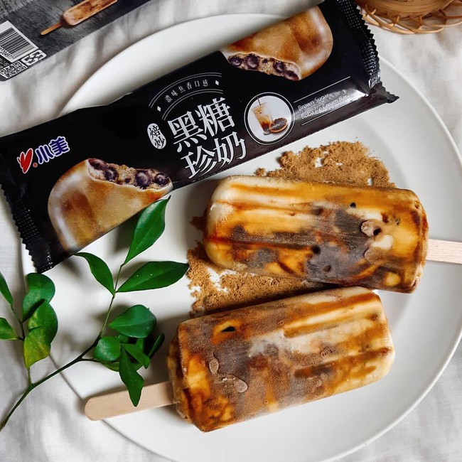 Loại kem mới xuất hiện làm dậy sóng hội chị em hảo ngọt châu Á: Hương vị hệt trà sữa đường đen, có cả trân châu dẻo mềm - Ảnh 3.