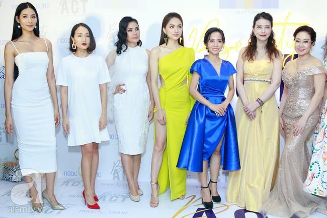 Hoa hậu Hương Giang xinh đẹp tỏa sáng khi đứng cạnh minh tinh Châu Hải My - Ảnh 12.
