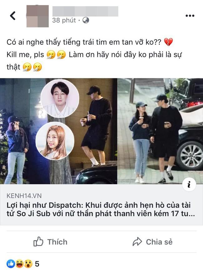 Trước thông tin So Ji Sub công khai hẹn hò bạn gái kém 17 tuổi gây sốt cả châu Á, hội chị em Việt liền có phản ứng bất ngờ - Ảnh 3.