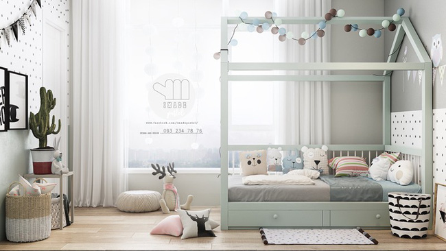 Những căn phòng thoáng mát cho trẻ nhỏ khi mùa Hè về - Ảnh 6.