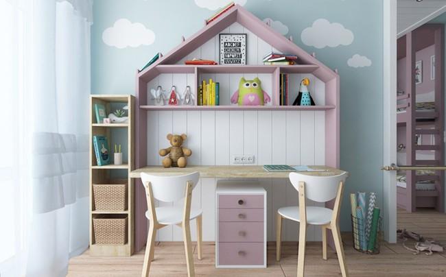 Những căn phòng thoáng mát cho trẻ nhỏ khi mùa Hè về - Ảnh 7.