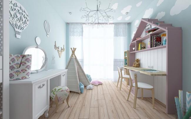 Những căn phòng thoáng mát cho trẻ nhỏ khi mùa Hè về - Ảnh 8.