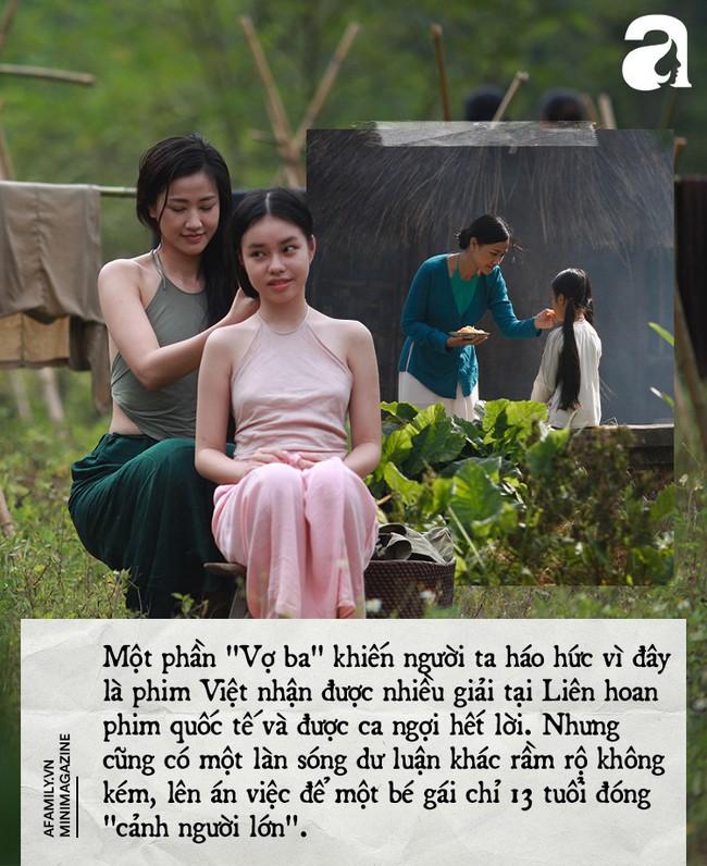 Cảnh 18+ trong Vợ Ba: Là người mẹ, tôi không mạo hiểm sự an toàn của con để đổi lấy ánh hào quang đến sớm - Ảnh 3.