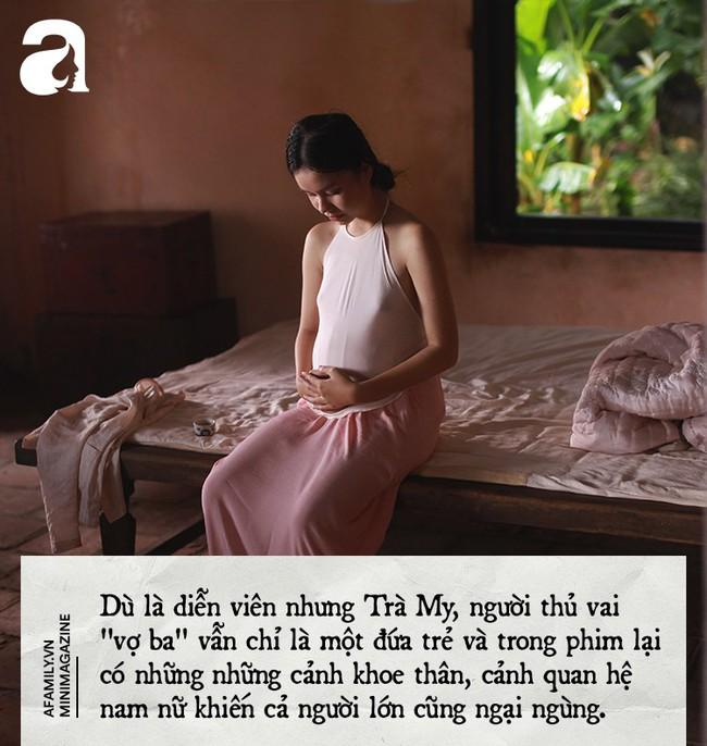 Cảnh 18+ trong Vợ Ba: Là người mẹ, tôi không mạo hiểm sự an toàn của con để đổi lấy ánh hào quang đến sớm - Ảnh 4.