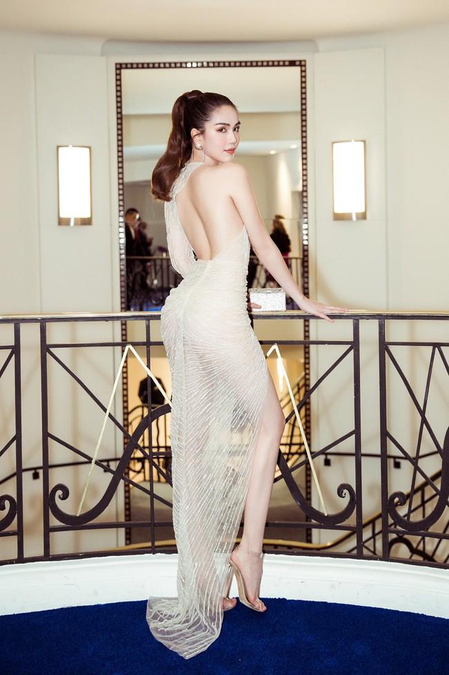 Ngọc Trinh diện váy áo mỏng tang lộ cả bầu ngực gợi cảm tại Cannes 2019  - Ảnh 11.