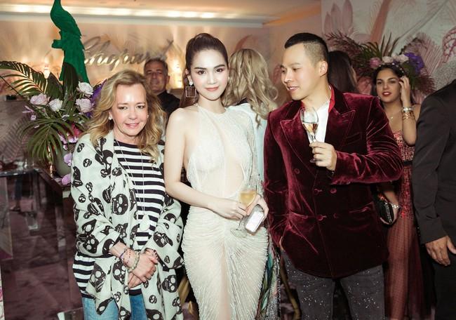 Ngọc Trinh diện váy áo mỏng tang lộ cả bầu ngực gợi cảm tại Cannes 2019  - Ảnh 4.