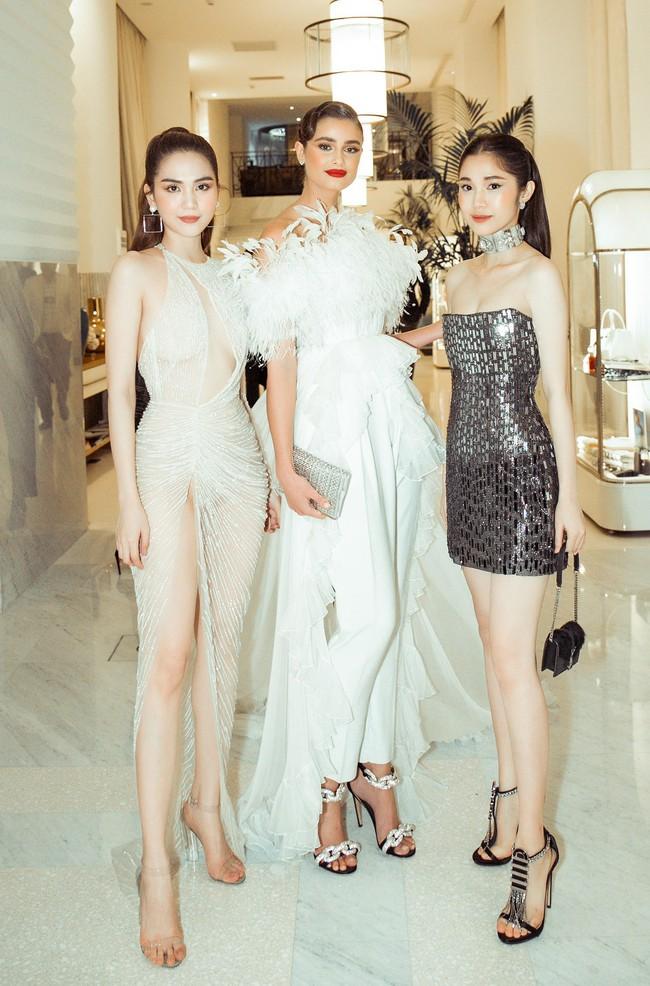 Ngọc Trinh diện váy áo mỏng tang lộ cả bầu ngực gợi cảm tại Cannes 2019  - Ảnh 13.