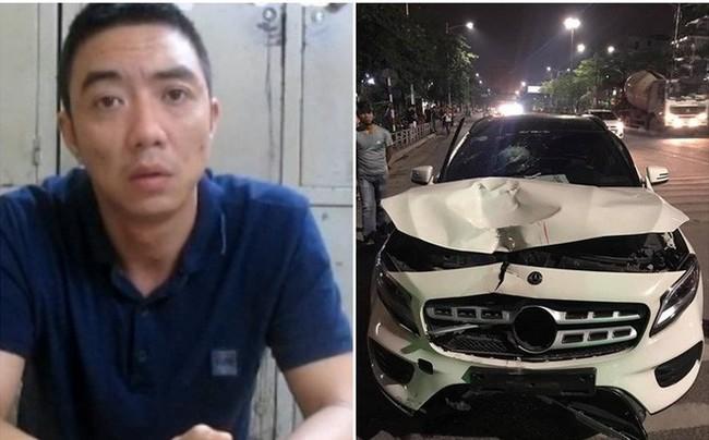Khởi tố vụ án tài xế xe Mercedes đâm tử vong 2 người ở hầm Kim Liên rồi bỏ chạy - Ảnh 1.