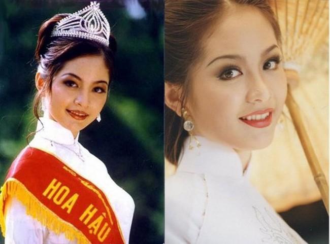Hoa hậu Thiên Nga: Tiểu thư cành vàng 2 lần đăng quang Hoa hậu, lấy chồng Giáo sư đại học Mỹ nhưng phải chịu nhiều bất hạnh nghiệt ngã - Ảnh 1.