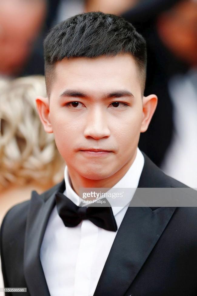 Sau Ngọc Trinh, tình tin đồn một thời của Angela Phương Trinh - Võ Cảnh điển trai trong lần đầu xuất hiện trên thảm đỏ LHP Cannes - Ảnh 4.