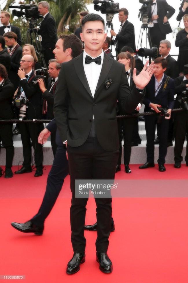 Sau Ngọc Trinh, tình tin đồn một thời của Angela Phương Trinh - Võ Cảnh điển trai trong lần đầu xuất hiện trên thảm đỏ LHP Cannes - Ảnh 5.