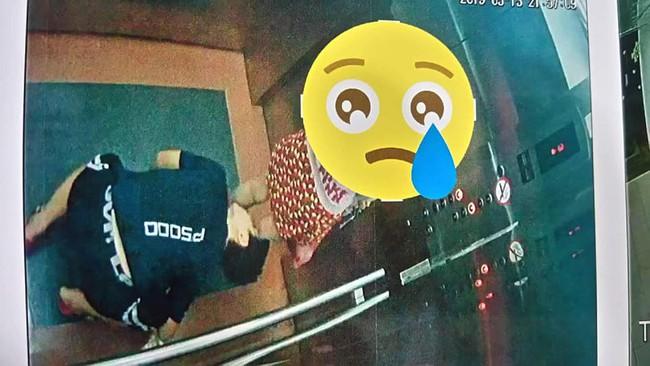 Quy Nhơn: Xuất hiện kẻ biến thái quỳ xuống trong thang máy để nhìn bên trong váy của bé gái - Ảnh 3.